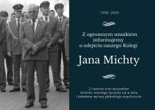 Zmarł Jan Michta